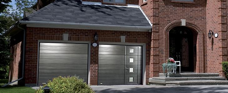Portes de garage sectionnelles plafond solutions de s curit maison et entreprise proxeo - Porte de garage a refoulement plafond ...