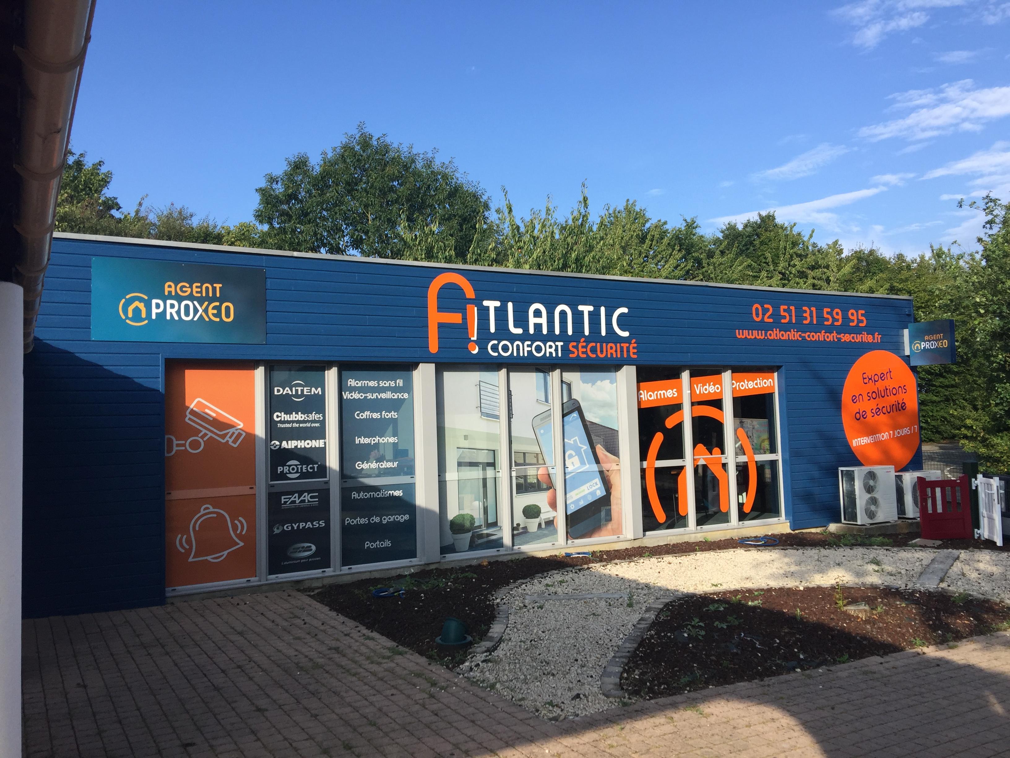 Atlantic Confort Sécurité installateur alarme à La Boissière Des Landes