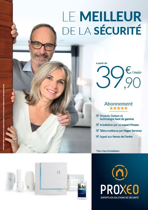 Le meilleur de la sécurité à partir de 39.90€ / mois*