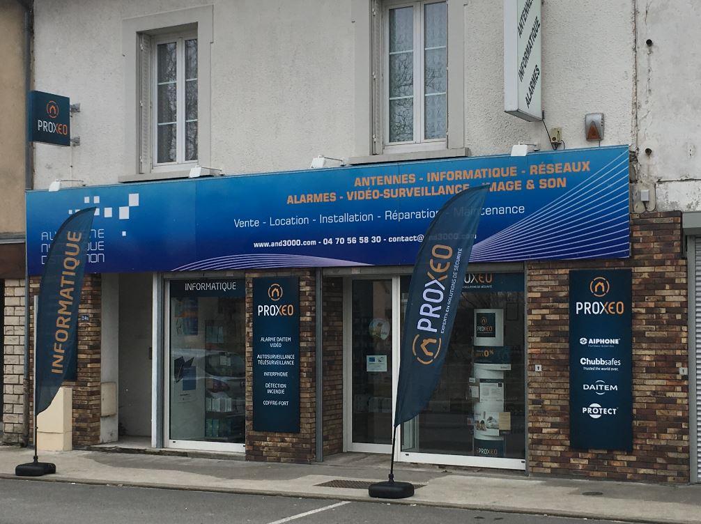 Auvergne Numérique Distribution Installateur Alarme à Gannat